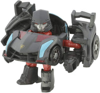 Q Transformers Series QT-32 Black Megatron Action Figure 1