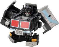 Q Transformers Series QT-33 Black Optimus Prime Convoy Action Figure 1