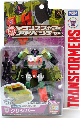 Transformers Adventure TAV08 Gregevor Action Figure