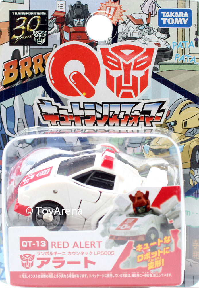 Q Transformers Series 03 QT-13 Red Alert LP500S Action Figure