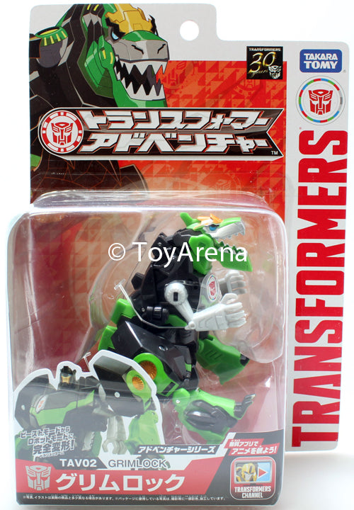 Transformers Adventure TAV02 Grimlock Action Figure