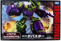 Transformers Unite Warriors UW-04 Devastator Constructicon Combiner Set