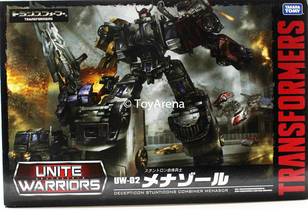Transformers Unite Warriors UW-02 Menasor Stunticons