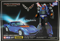 Transformers Masterpiece MP-25 Tracks Action Figure + Coin