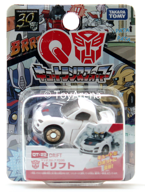 Q Transformers Series 06 QT-22 Drift Mazda RX-7 FD3S Action Figure