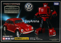 Transformers Masterpiece MP-21R Bumblebee (Red Body) Volkswagen Type 1 Super Beetle