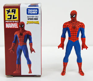 Takara Tomy Marvel Metakore Metal Figure Spiderman Action Figure