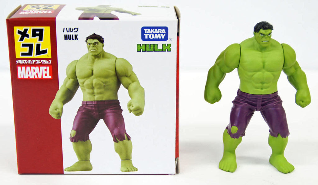 Takara Tomy Marvel Metakore Metal Figure Hulk Action Figure