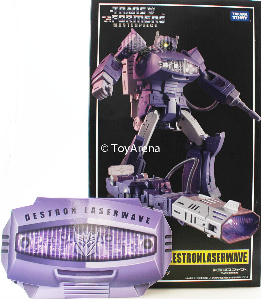 Transformers Masterpiece MP-29 Shockwave (Laserwave) Action Figure + Collectors Coin