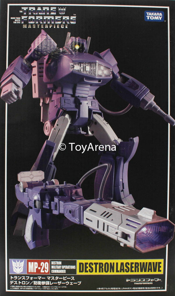 Transformers Masterpiece MP-29 Shockwave (Laserwave) Action Figure