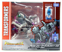 Transformers Legends LG-44 Sharkticon & Sweeps Action Figure