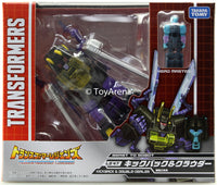 Transformers Legends LG-47 Kickback & Double-Dealer Action Figure