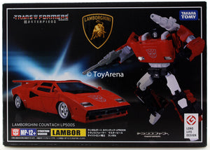Transformers Masterpiece MP-12+ Lambor/ Sideswipe Anime Color Ver. Action Figure