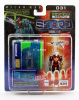 Microman 031 Ultra-Magnetic Force Clark System Cassette Stealth Helicopter Action Figure
