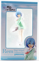 Kadokawa 1/7 Re: Zero Rem High School Uniform Ver. Scale Statue Figure PVC