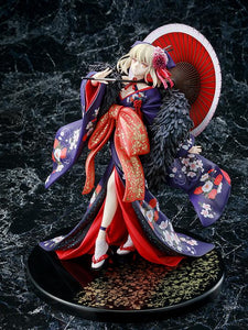 Kadokawa 1/7 Fate/Stay Night Saber Alter (Kimono Ver.) Scale Statue Figure