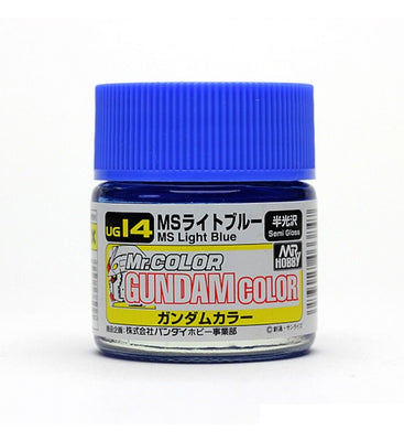 Mr. Hobby Mr. Color Gundam Color UG14 MS Light Blue Semi Gloss 10ml Bottle