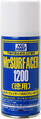 Mr. Hobby Mr. Surfacer 1200 Spray 170ml B515 B-515 Model Kit