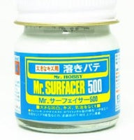 Mr. Hobby Mr. Surfacer 500 Bottle 40ml SF285 Model Kit