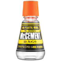 Mr. Hobby Mr. Cement Glue 23ml Paint Bottle MC124