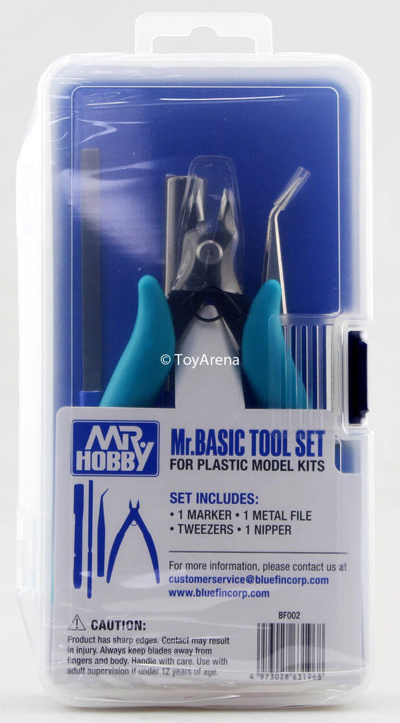 Mr. Hobby Mr Basic Tool Set For plastic Model Kits BF002