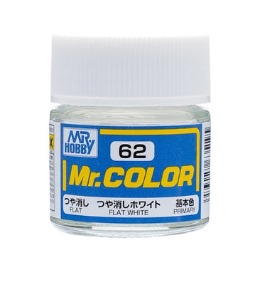 Mr. Hobby Mr. Color C62 Flat White 10ml Bottle