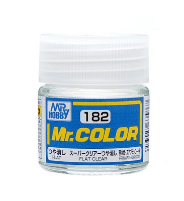 Mr. Hobby Mr. Color C182 Flat Clear 10ml Bottle