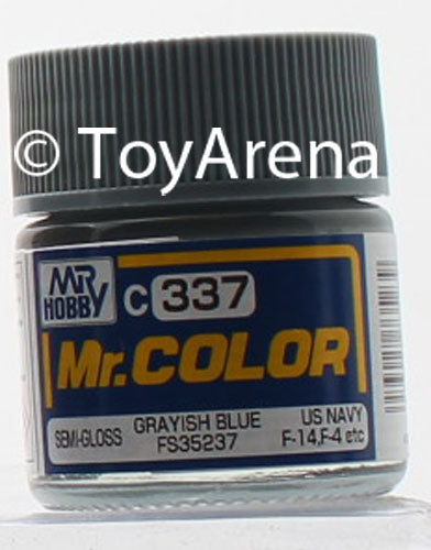 Mr. Hobby Mr. Color C337 Semi Gloss Grayish Blue FS35237 10ml Bottle