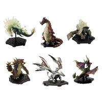 Capcom Figure Builder Monster Hunter The best Vol 7, 8 Trading Figures Box Set of 6