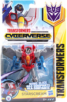 Hasbro Transformers: Cyberverse Warrior Class Starscream Action Figure
