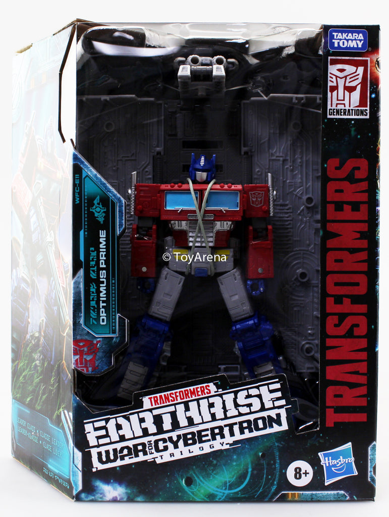 Hasbro Transformers War for Cybertron Earthrise Leader Optimus Prime Action Figure