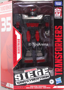 Transformers Generations War For Cybertron: Siege Deluxe Bluestreak Action Figure Exclusive WFC-S64