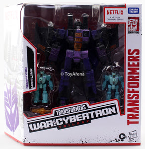 Hasbro Transformers War for Cybertron Netflix Hotlink Voyager 3-Pack Action Figure