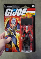 Hasbro Retro G.I. Joe Destro Walmart Exclusive Action Figure