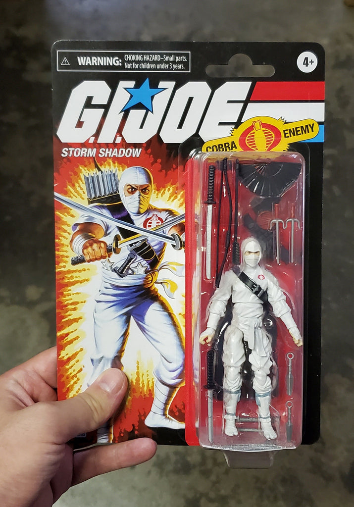 Hasbro Retro G.I. Joe Storm Shadow Walmart Exclusive Action Figure