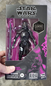Hasbro Star Wars Black Series Electrostaff Purge Trooper Action Figure Exclusive