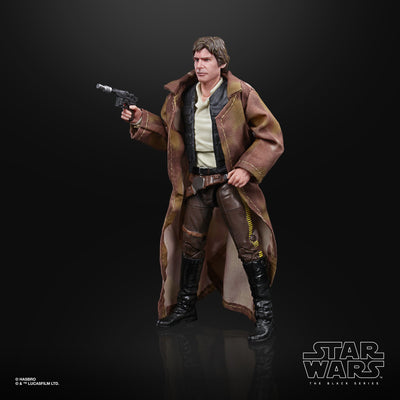 Hasbro Star Wars Black Series Return of the Jedi Han Solo (Endor Ver.) 6 Inch Action Figure