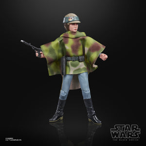 Hasbro Star Wars Black Series Return of the Jedi Princess Leia Organa (Endor Ver.) Action Figure