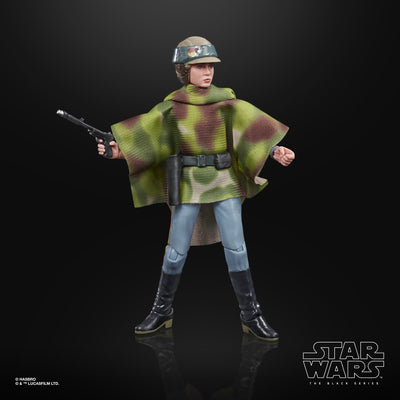 Hasbro Star Wars Black Series Return of the Jedi Princess Leia Organa (Endor Ver.) 6 Inch Action Figure