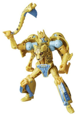 Transformers Generations War For Cybertron: Kingdom Deluxe Cheetor Action Figure WFC-K4