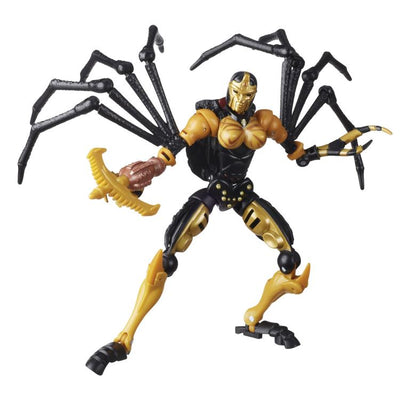 Transformers Generations War For Cybertron: Kingdom Deluxe Blackarachnia Action Figure WFC-K5