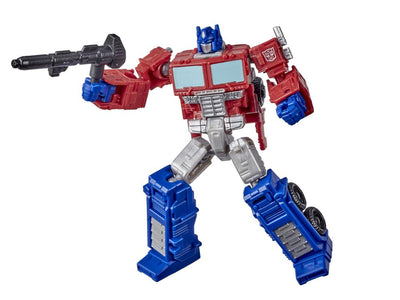 Transformers Generations War For Cybertron: Kingdom Core Optimus Prime Action Figure WFC-K1