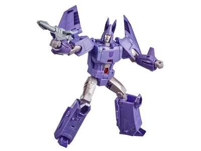 Transformers Generations War For Cybertron: Kingdom Voyager Cyclonus Action Figure WFC-K9