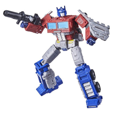Transformers Generations War For Cybertron: Kingdom Leader Optimus Prime Action Figure WFC-K11