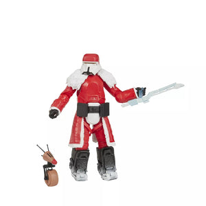 "Hasbro Star Wars Black Series 6"" Range Trooper and D-O Holiday Edition Action Figure Exclusive F0877"