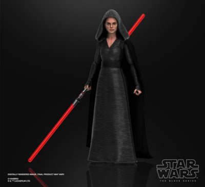 Hasbro Star Wars Black Series The Rise of Skywalker #01 Rey Dark Side Vision 6 Inch Action Figure