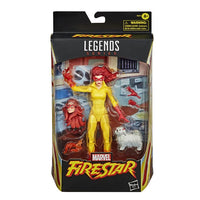 Marvel Legends Firestar and Ms. Lion