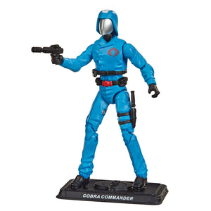 Hasbro Retro G.I. Joe Cobra Commander Walmart Exclusive Action Figure