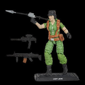 Hasbro Retro G.I. Joe Lady Jaye Walmart Exclusive Action Figure