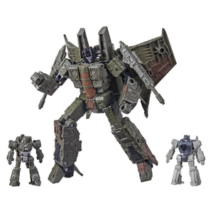 Transformers Generations Netflix War For Cybertron: Trilogy Voyager Sparkless Seeker Singe and Caliburst Action Figure Exclusive